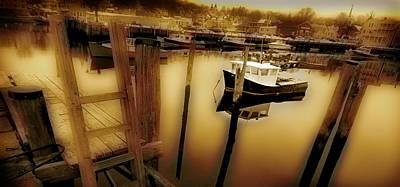 Rockport Harbor Poster