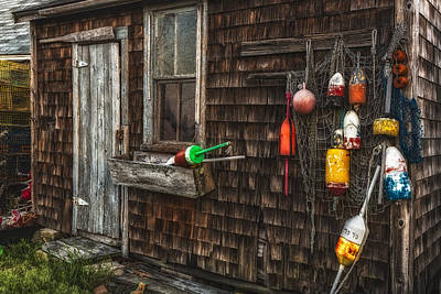 Rockport Lobster Shack Poster by Susan Candelario