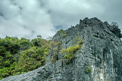 Rocks At Moo Koh Angthong Poster