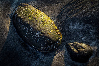 Poster featuring the photograph Rocks From Talisker Beach 1 by Davorin Mance