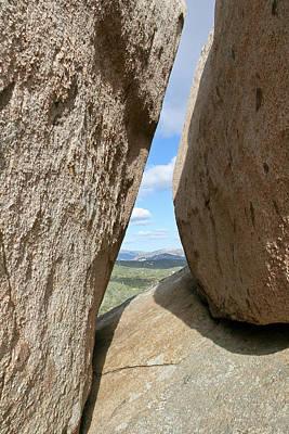 Rocks Magritte Poster