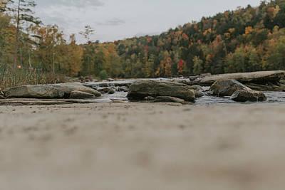 Rocks On Cumberland River Poster