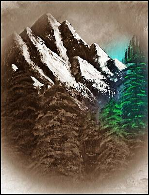 Rocky Mountain High Number Nine Poster by Scott Haley