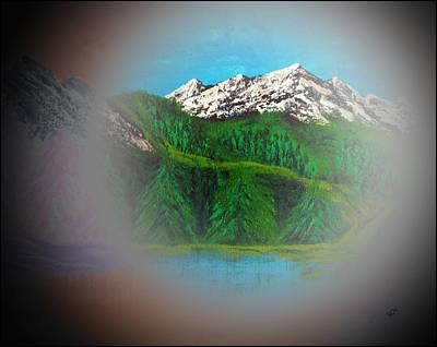 Rocky Mountain Magic Poster by Scott Haley