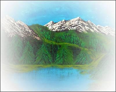 Rocky Mountain Mist Poster by Scott Haley