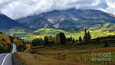 Rocky Mountain View Poster by Jim Chamberlain