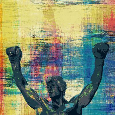 Rocky V1 Poster by Brandi Fitzgerald