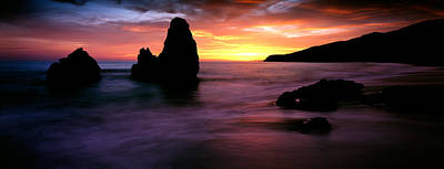Rodeo Beach At Sunset, Golden Gate Poster by Panoramic Images