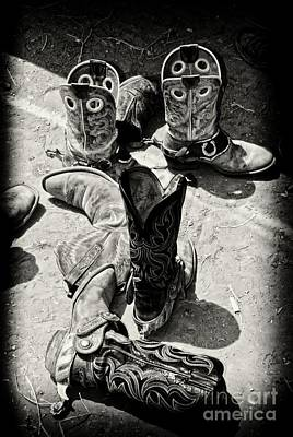Rodeo Boots And Spurs Poster