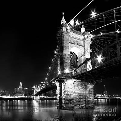 Roebling Bridge Poster by Twenty Two North Photography