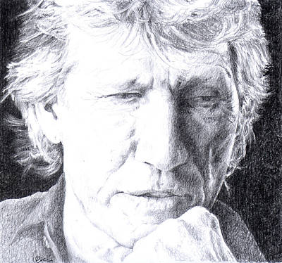 Roger Waters Of Pink Floyd Poster by Liz Molnar