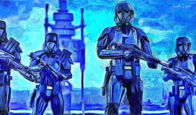 Rogue One Death Trooper - Da Poster