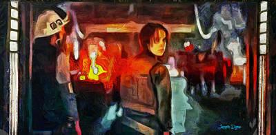Rogue One Looking Back - Da Poster by Leonardo Digenio
