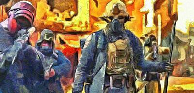 Rogue One Ready To Fight - Da Poster by Leonardo Digenio