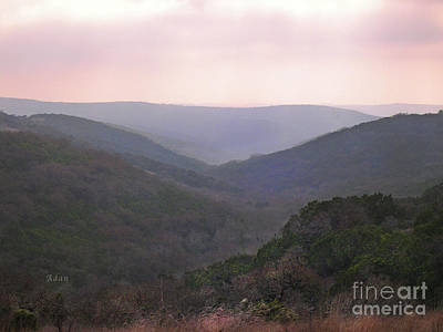 Poster featuring the photograph Rolling Hill Country by Felipe Adan Lerma