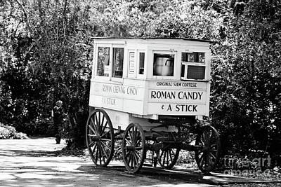 Roman Candy No 2 - Bw Poster