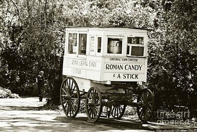 Roman Candy No 2 - Sepia Poster