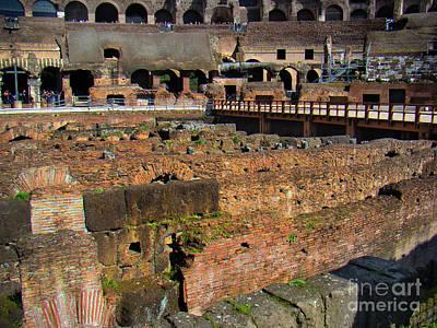 Roman Colosseum II Poster