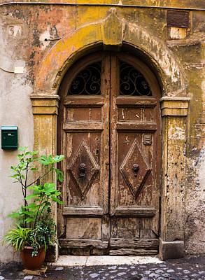 Roman Door Poster