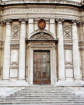 Roman Doors - Door Photography - Rome, Italy Poster by Melanie Alexandra Price