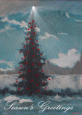 Roman Nose Tree Card Poster by Robert Bissett
