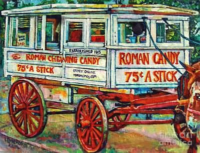 Roman Style Poster by Lisa Tygier Diamond
