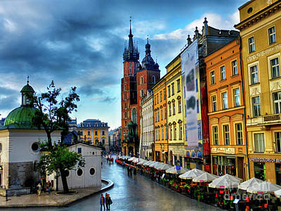 Romance In Krakow Poster