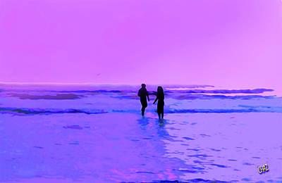 Romance On The Beach Poster