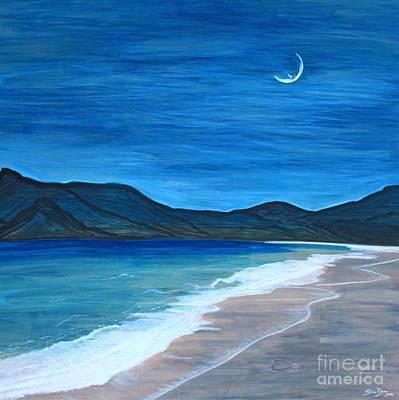 Romancing The Moon Poster by Barbara Donovan
