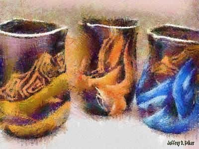 Romanian Vases Poster