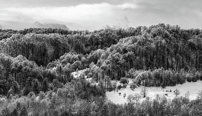 Romanian Winter Vista Poster by Unsplash - Ioan Schlosser