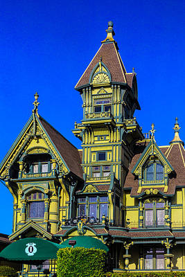 Romantic Carson Mansion Poster by Garry Gay