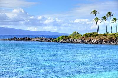 Poster featuring the photograph Romantic Kapalua  by Kelly Wade