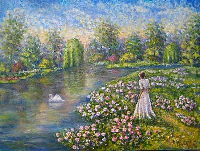 Romantic Lake Poster