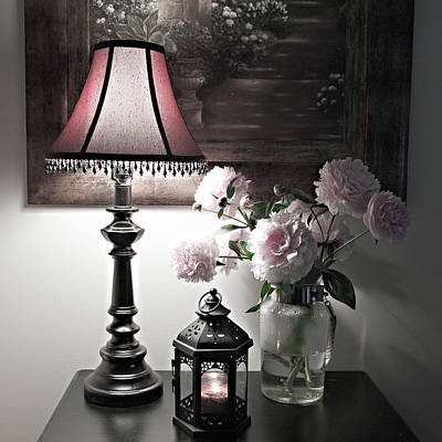 Romantic Nights Poster by Sherry Hallemeier