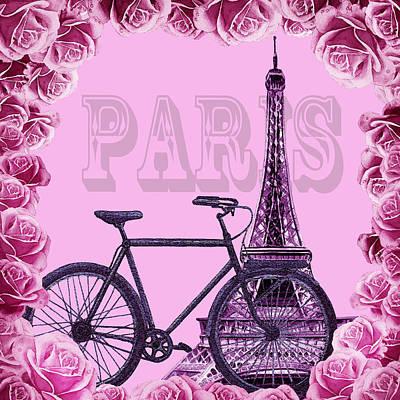Romantic Ride To Paris Poster