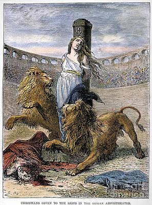 Rome: Christian Martyrs Poster by Granger