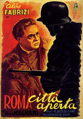 Rome - Open City Poster
