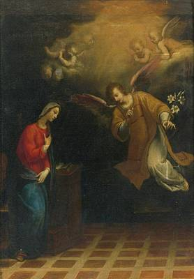 Rome The Annunciation Poster