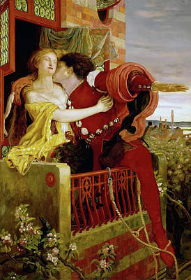 Romeo And Juliet Poster by Ford Brown