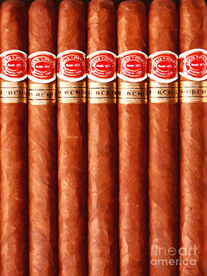 Romeo Y Julieta Churchill Cigars 20150829 Vertical Poster by Wingsdomain Art and Photography