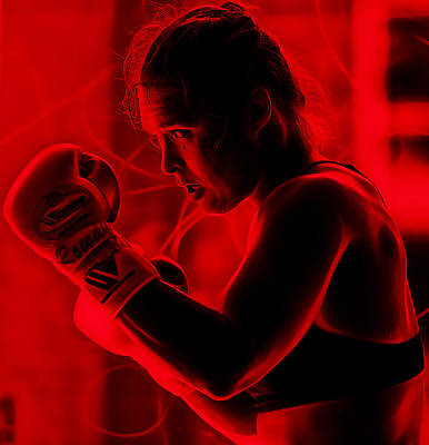 Ronda Jean Rousey Mma Poster by Marvin Blaine