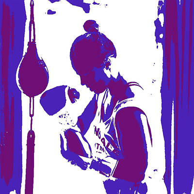 Ronda Rousey 4b Poster by Brian Reaves