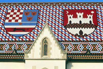 Roof Poster by Dubravko Grakalic