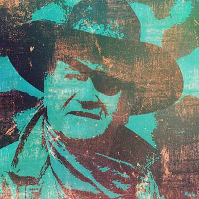 Rooster Cogburn Poster by Brian Broadway