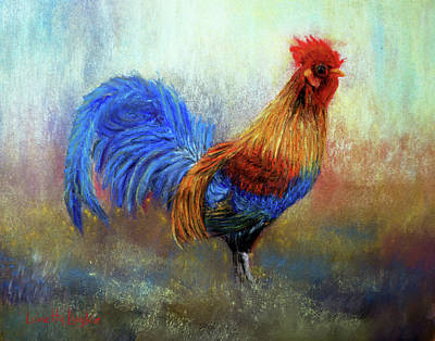 Rooster Poster by Loretta Luglio