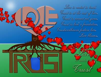 Rooted In Trust Poster