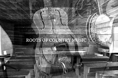 Poster featuring the photograph Roots Of Country Music by David Lee Thompson