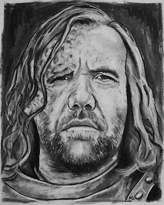 Rory Mccann As Sandor Clegane Aka The Hound Poster by Harrison Larsen