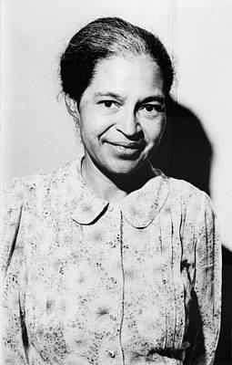 Rosa Parks Was A Member Of The Naacp Poster by Everett
